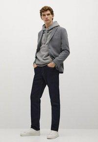 Mango - Blazer jacket - šedá - 1