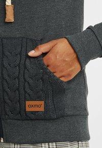 Oxmo - MATILDA - Zip-up hoodie - dar grey m - 4