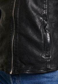 Gipsy - Leather jacket - black - 5