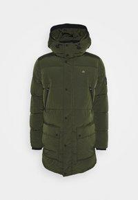 Calvin Klein - CRINKLE LONG LENGTH JACKET - Zimní kabát - green - 7