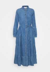 Marks & Spencer London - TIER DRESS - Maxi dress - light blue - 0