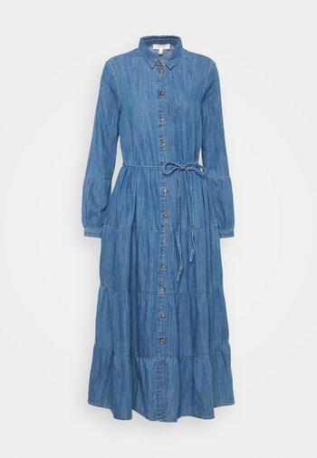 TIER DRESS - Maxi dress - light blue