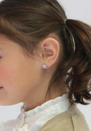 Earrings - licht roze