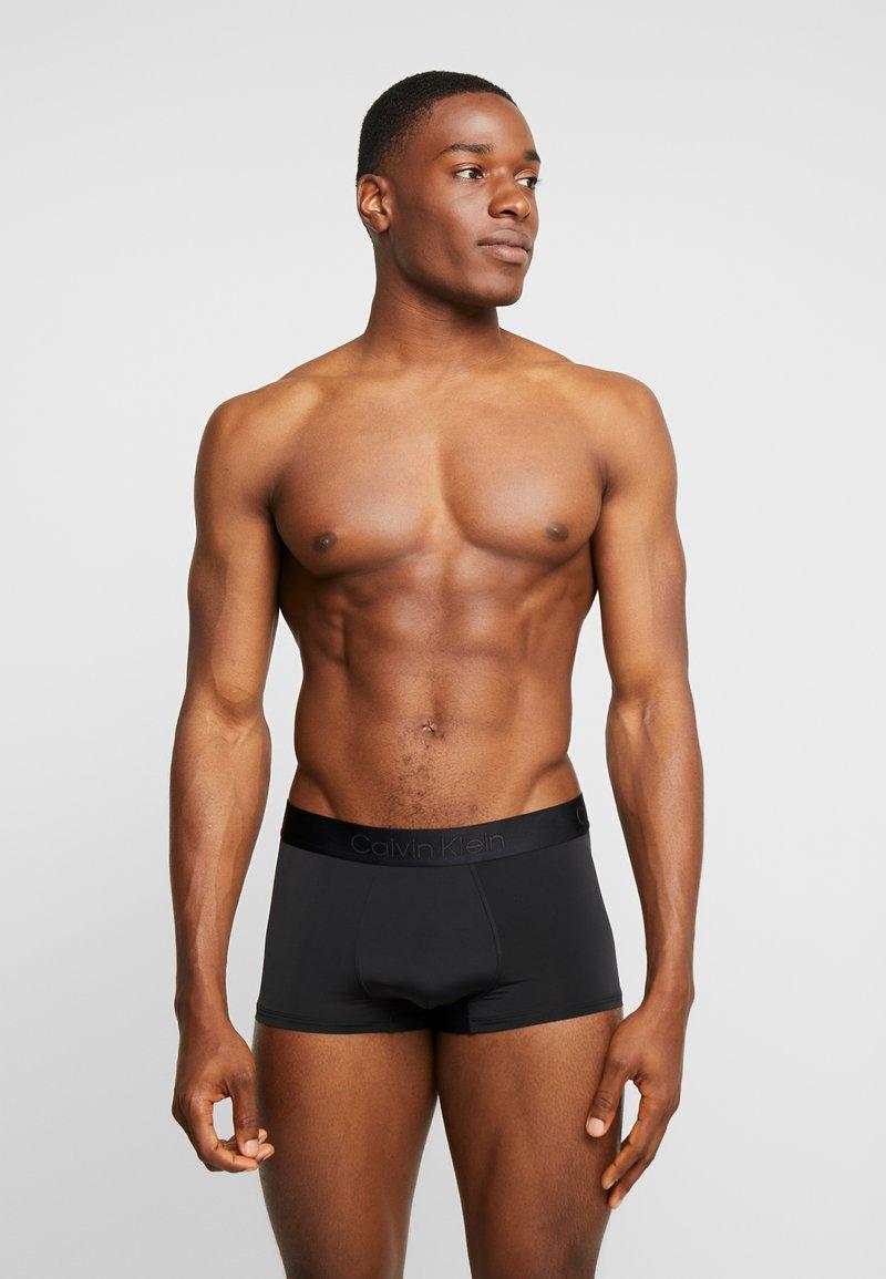 Calvin Klein Underwear - LOW RISE TRUNK - Pants - black