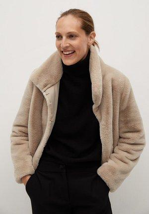 CAMPBELL - Zimní bunda - ecru