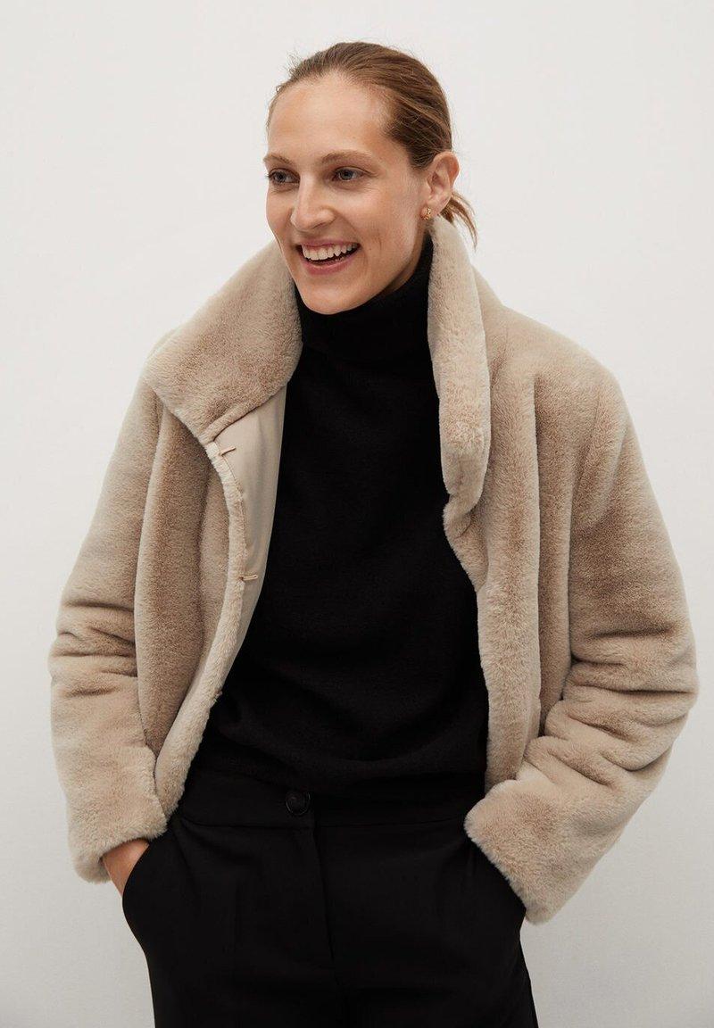 Mango - CAMPBELL - Winter jacket - ecru