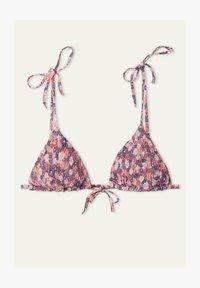 Tezenis - Bikini top - dark nude summer flower - 4