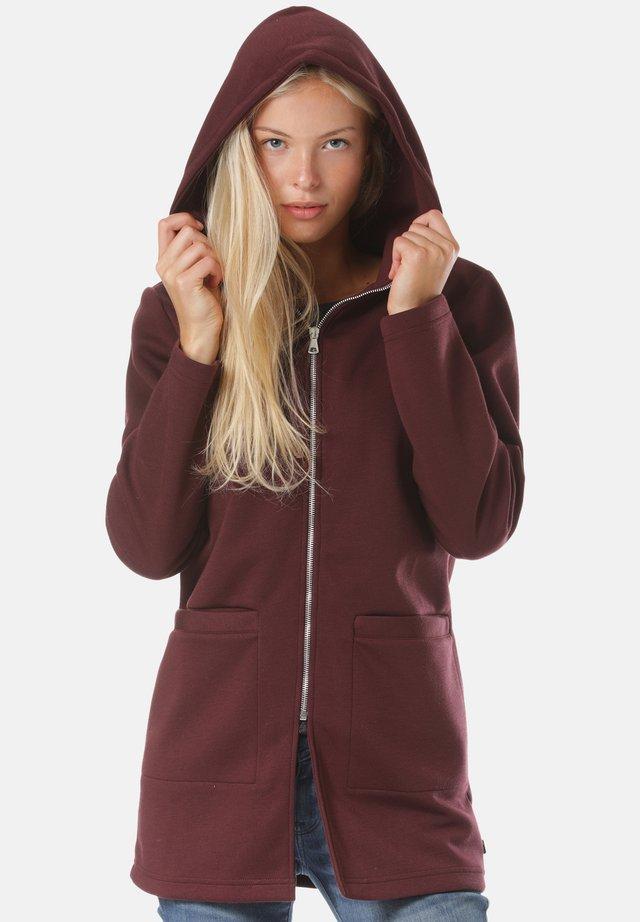 NOORVIK - veste en sweat zippée - purple