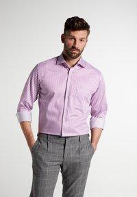 Eterna - MODERN FIT - Shirt - pink/weiss - 0