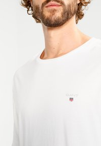 GANT - THE ORIGINAL - Langærmede T-shirts - egg shell - 3