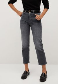 Mango - PREMIUM - Jeans straight leg - open grey - 0