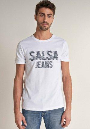PALM BEACH  - Print T-shirt - weiß