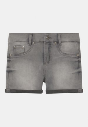 GIRLS HIGH-WAIST - Jeans Shorts - light grey
