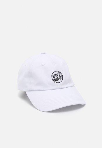 OPUS JAPANESE DOT UNISEX - Kšiltovka - white