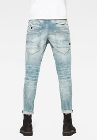 G-Star - 5620 3D ZIP KNEE SKINNY - Jeans Skinny Fit - sun faded scanda blue - 4