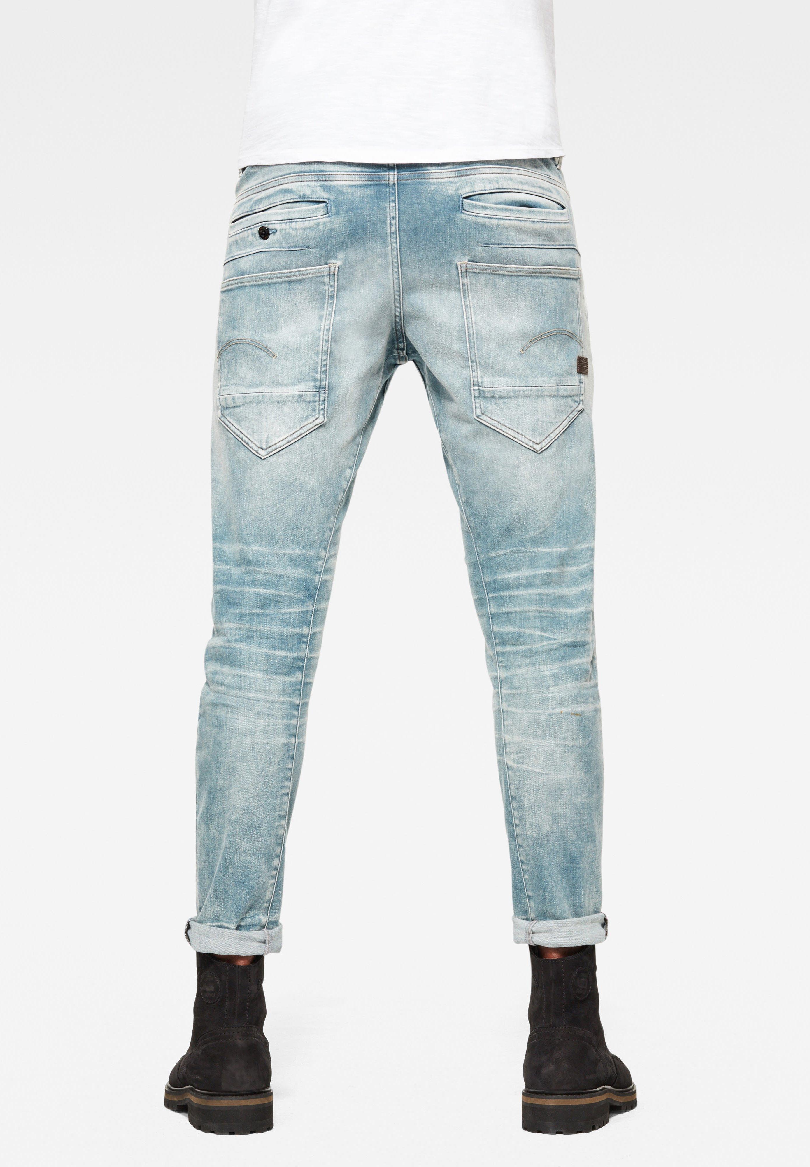 Men 5620 3D ZIP KNEE SKINNY - Jeans Skinny Fit