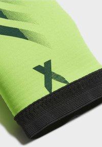 adidas Performance - X TRAINING GOALKEEPER GLOVES - Gloves - green - 3