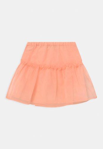 HONORA ORGANZA - Mini skirt - tropical peach