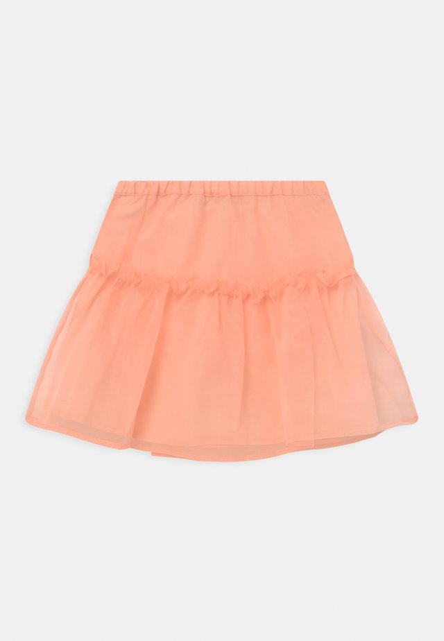 HONORA ORGANZA - Minijupe - tropical peach