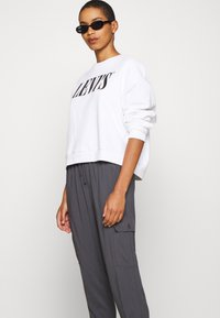 Abercrombie & Fitch - FASHION PANT  - Cargo trousers - asphalt - 3