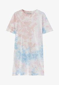 PULL&BEAR - Žerzejové šaty - rose - 4