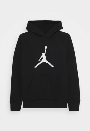 JUMPMAN LOGO - Bluza z kapturem - black