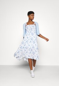 Hollister Co. - CHAIN MIDI DRESS - Day dress - white - 1