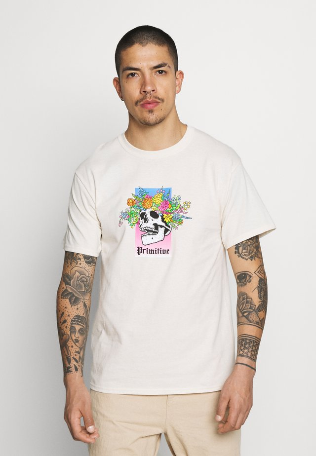 TRUTH TEE - T-shirts med print - cream