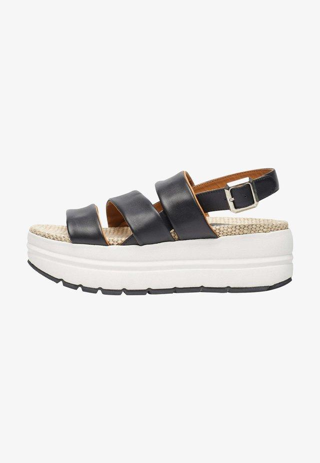 SONI - Sandales à plateforme - schwarz