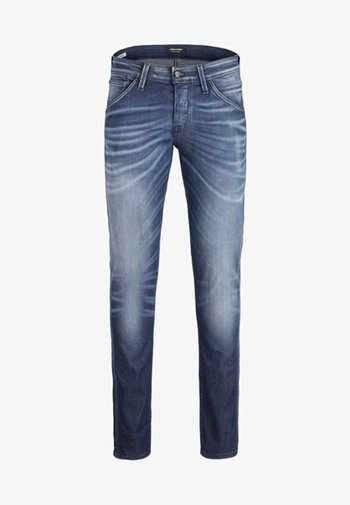 GLENN FOX - Slim fit jeans - blue denim