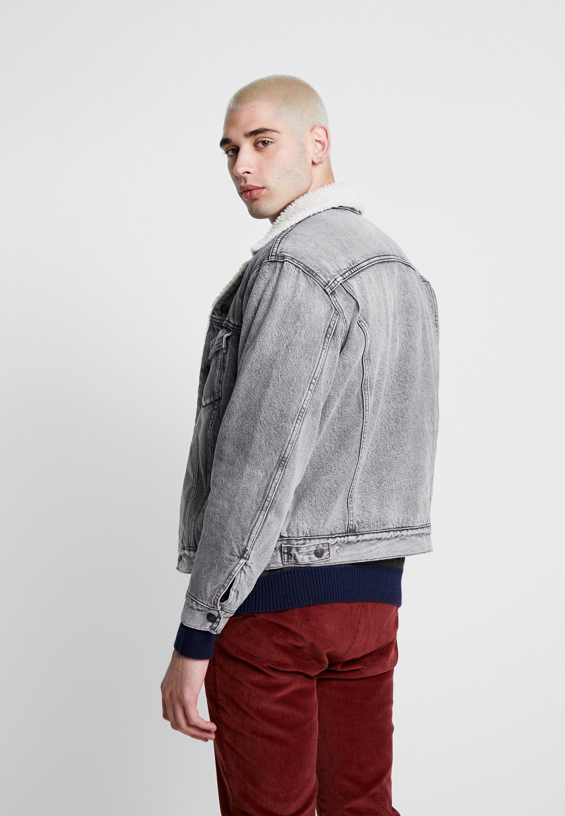Levi's® VIRGIL TRUCKER Jeansjakke blue denim Zalando.no