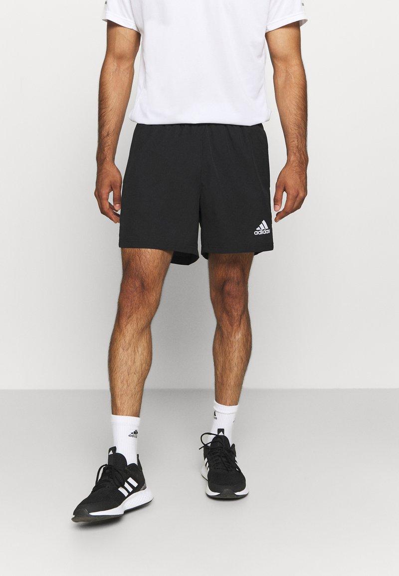 adidas Performance - OWN THE RUN - Sportovní kraťasy - black