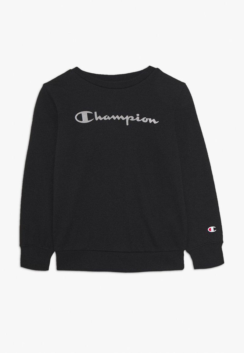Champion - LEGACY AMERICAN CLASSICS CREWNECK UNISEX - Sweatshirt - black
