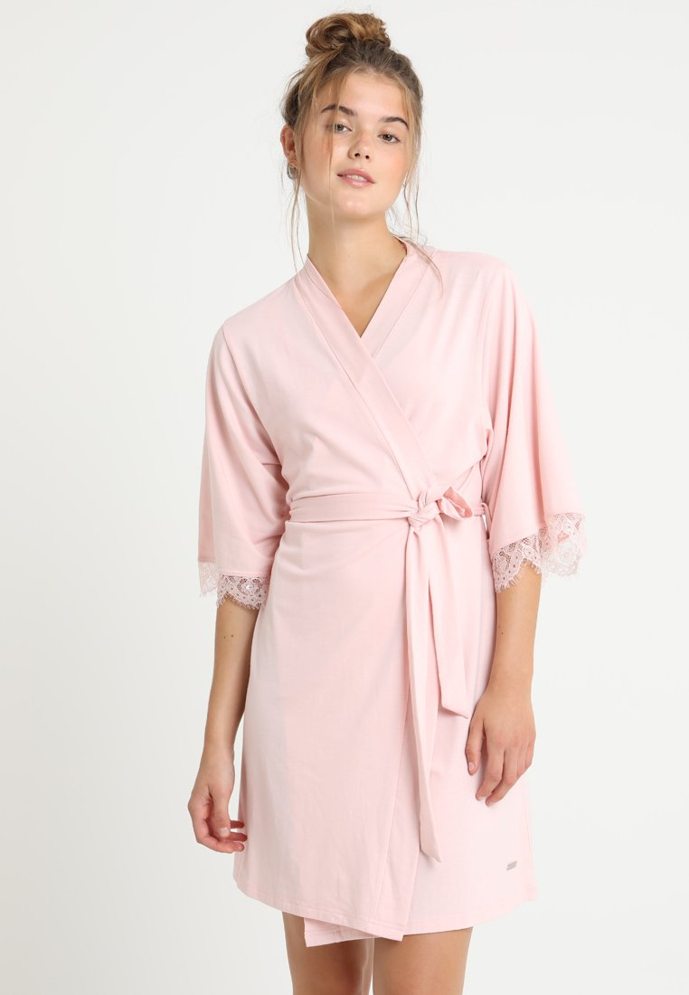 LASCANA - Dressing gown - light pink