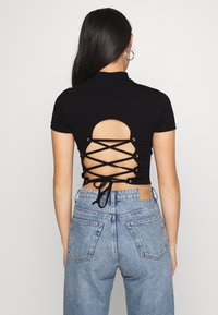 Even&Odd - T-shirt imprimé - black - 0