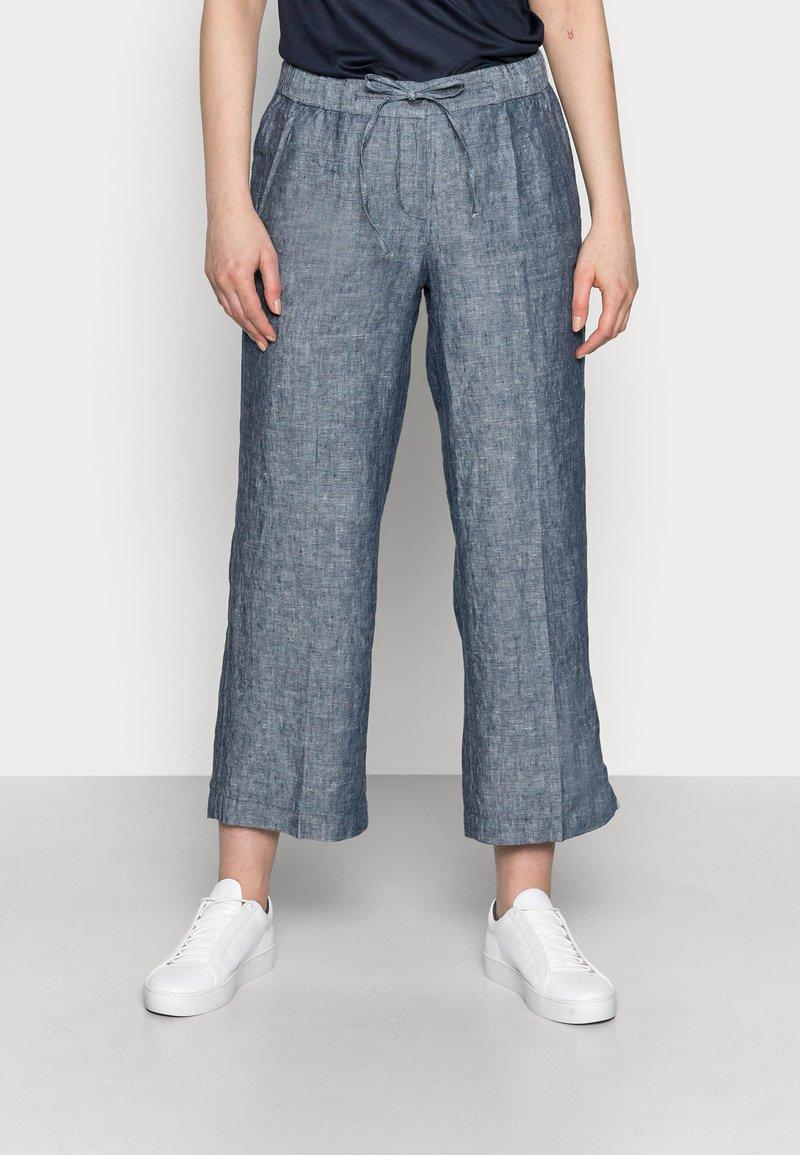 Opus - MARITTA - Trousers - mystic blue