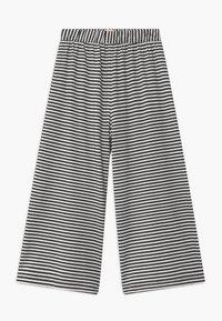 WAUW CAPOW by Bangbang Copenhagen - FRILL SUIT - Lacláče - black/white - 2