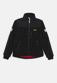 Jack Wolfskin - BLIZZARD JACKET KIDS - Fleece jacket - black - 0