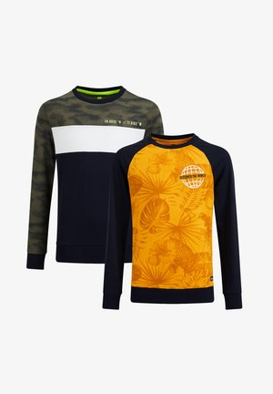 2PACK - Long sleeved top - yellow