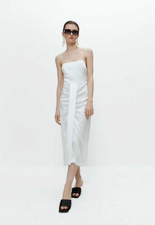 Korte jurk - white