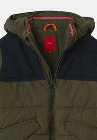 s.Oliver - Zimní bunda - khaki/oliv - 3