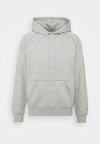 grey heather/gold