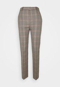 Victoria Victoria Beckham - DRAINPIPE CHECK TROUSER - Trousers - cream check - 4