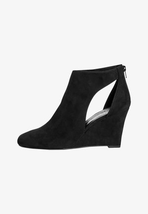 FOREVER COMFORT® SQUARE TOE - High heeled ankle boots - black