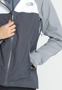 The North Face - STRATOS JACKET - Hardshell jacket - vanadis grey - 4