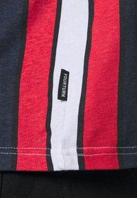 YOURTURN - UNISEX - Print T-shirt - blue/red/white - 5