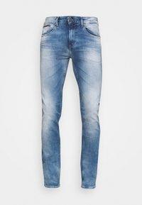 Tommy Jeans - AUSTIN SLIM - Slim fit jeans - wilson light blue stretch - 4