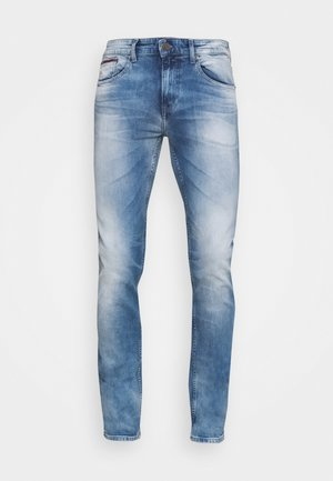 AUSTIN SLIM - Slim fit jeans - wilson light blue stretch