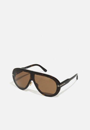 TROY UNISEX - Sunglasses - classic dark havana/brown