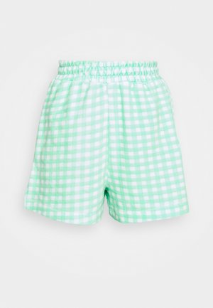 GINGHAM TOWELLING - Shortsit - green